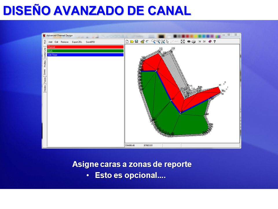 DISEÑO AVANZADO DE CANAL