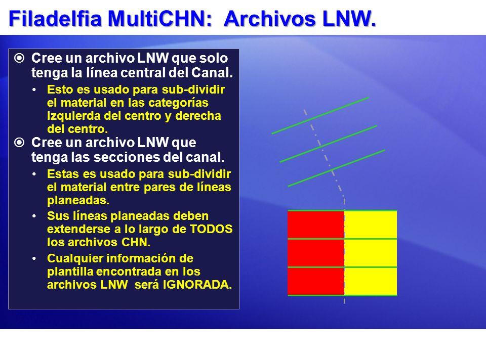 Filadelfia MultiCHN: Archivos LNW.