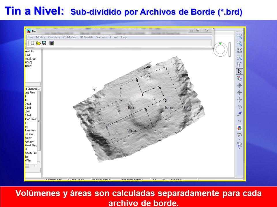 Tin a Nivel: Sub-dividido por Archivos de Borde (*.brd)