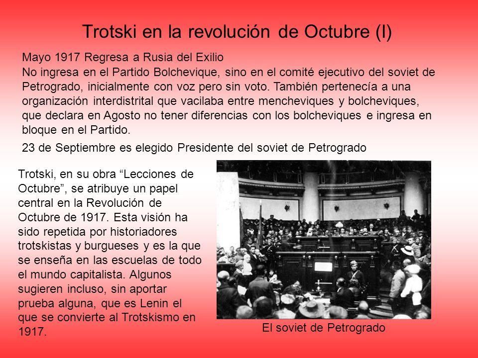 Trotski en la revolución de Octubre (I)