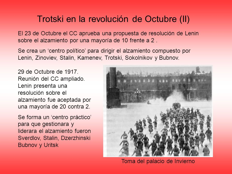 Trotski en la revolución de Octubre (II)