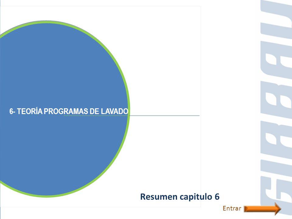 6- TEORÍA PROGRAMAS DE LAVADO