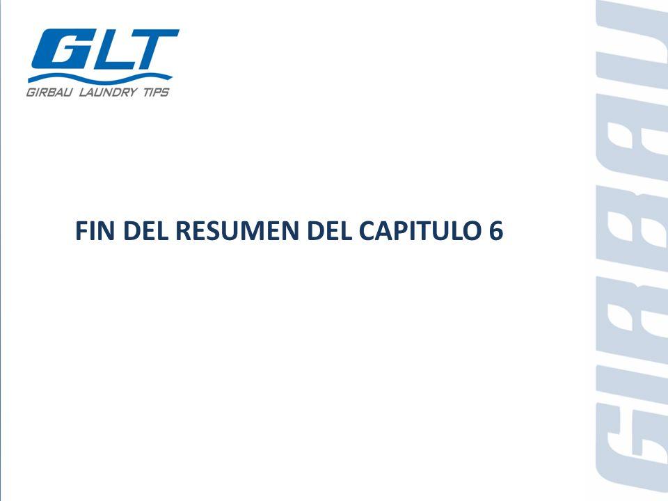 FIN DEL RESUMEN DEL CAPITULO 6