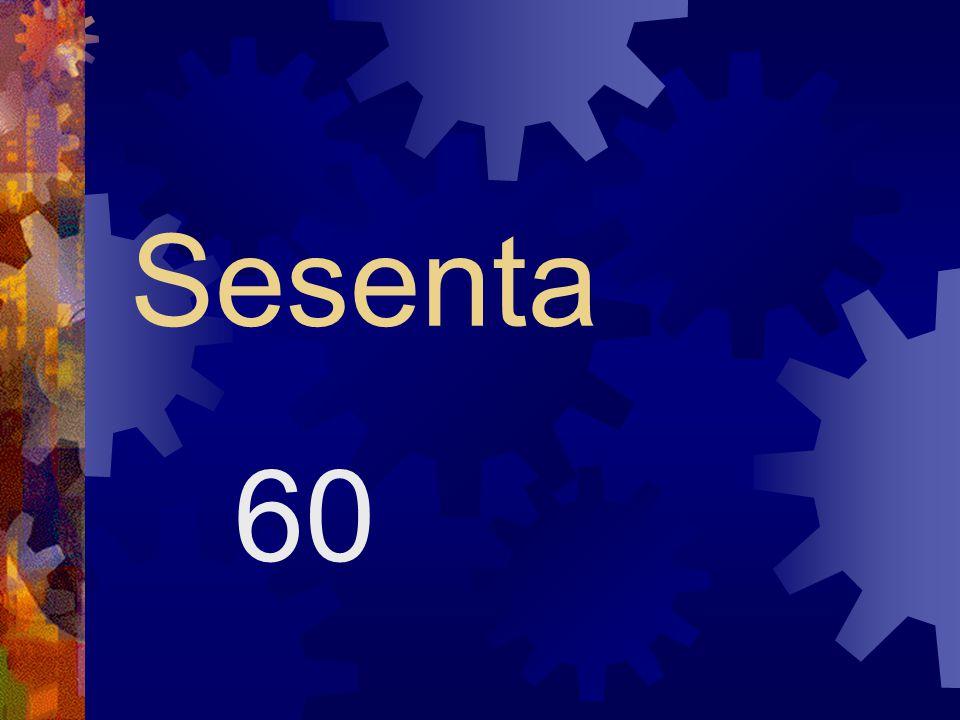 Sesenta 60