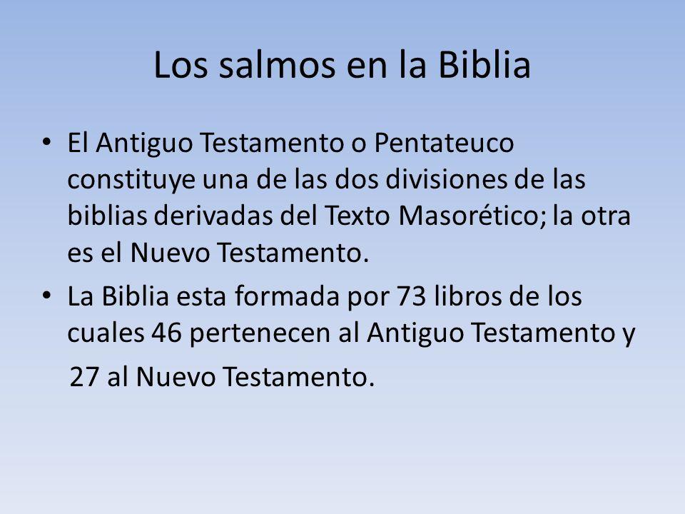 Los salmos en la Biblia