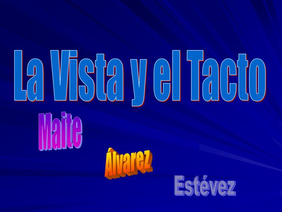 La Vista y el Tacto Maite Álvarez Estévez