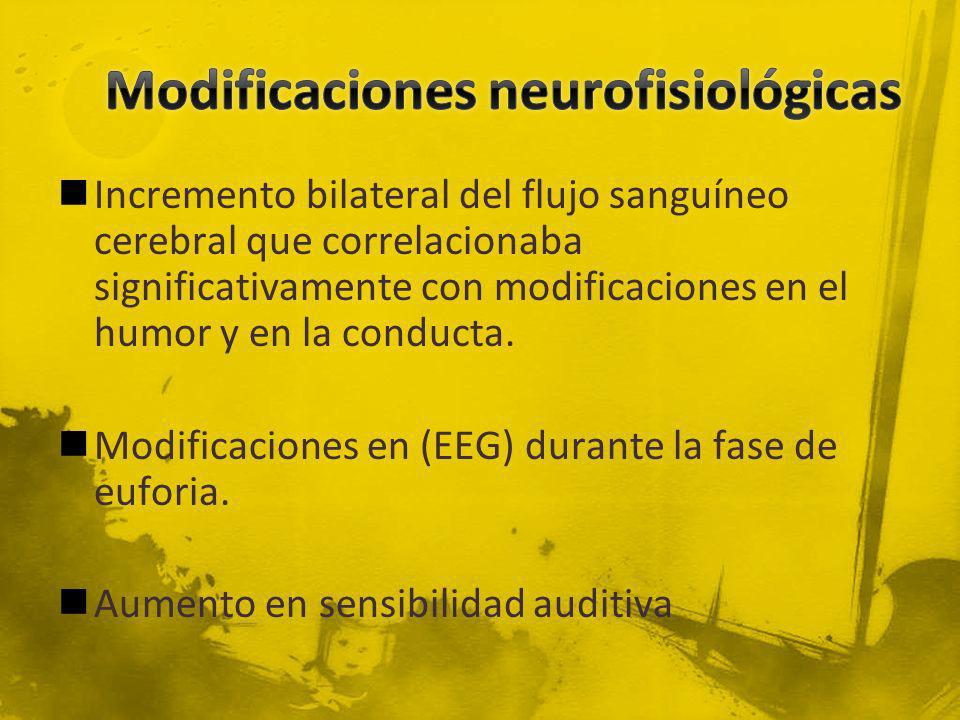 Modificaciones neurofisiológicas