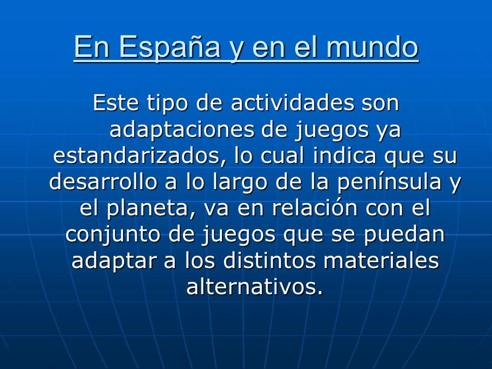 En España y en el mundo
