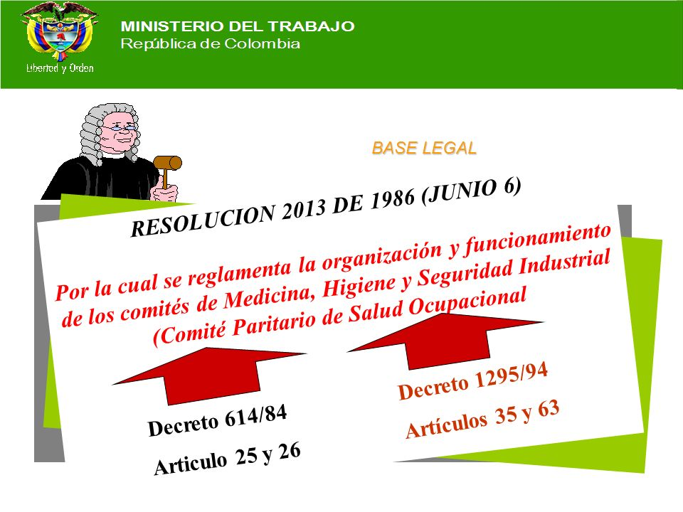 (Comité Paritario de Salud Ocupacional