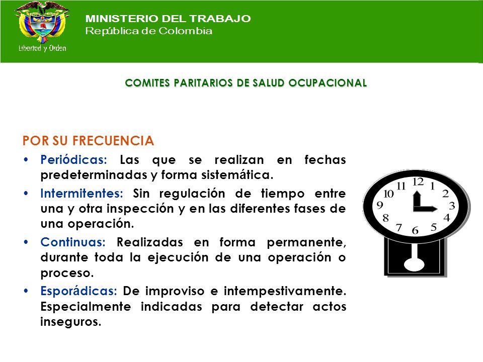 COMITES PARITARIOS DE SALUD OCUPACIONAL