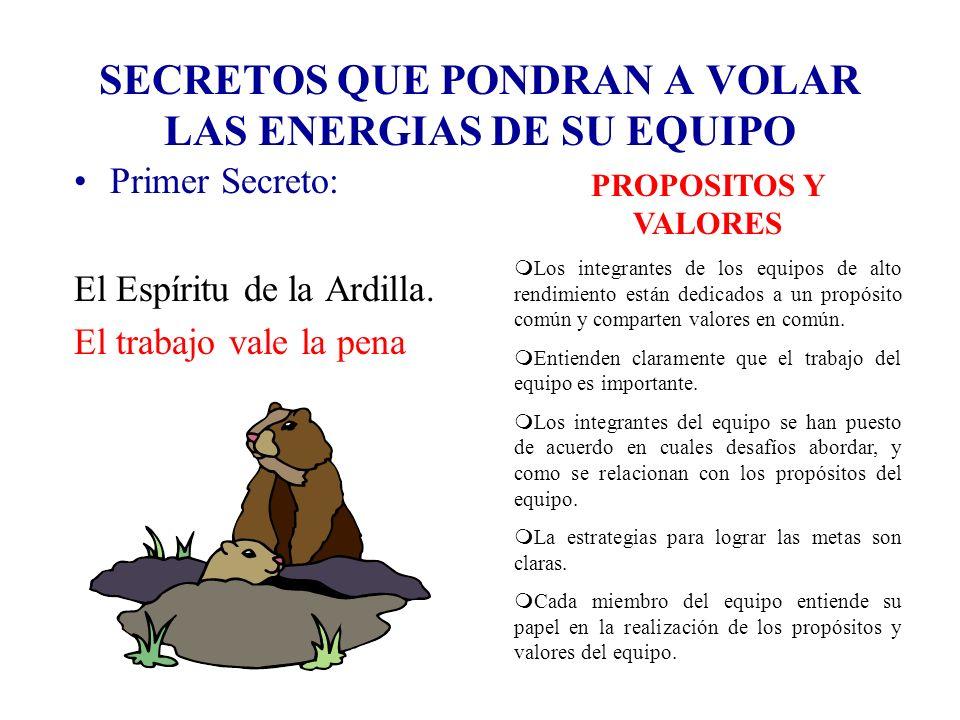 SECRETOS QUE PONDRAN A VOLAR LAS ENERGIAS DE SU EQUIPO