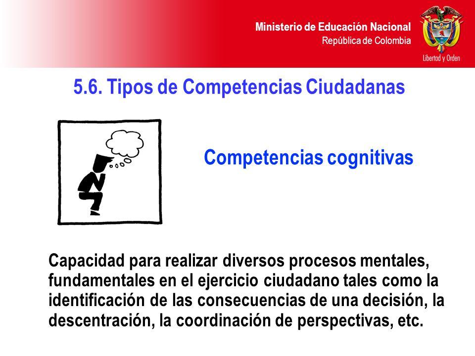 Competencias cognitivas