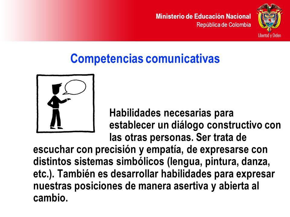 Competencias comunicativas