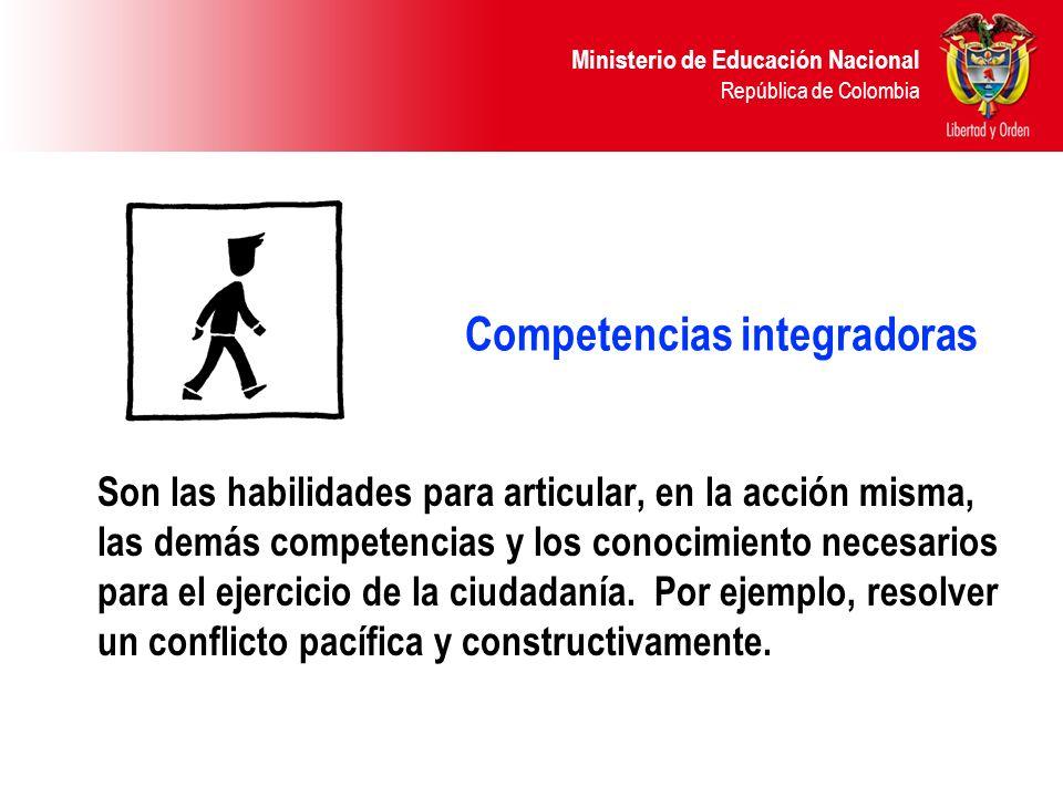 Competencias integradoras