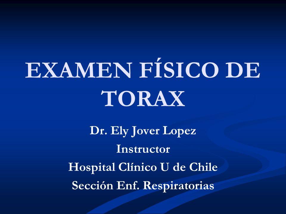 Hospital Clínico U de Chile Sección Enf. Respiratorias