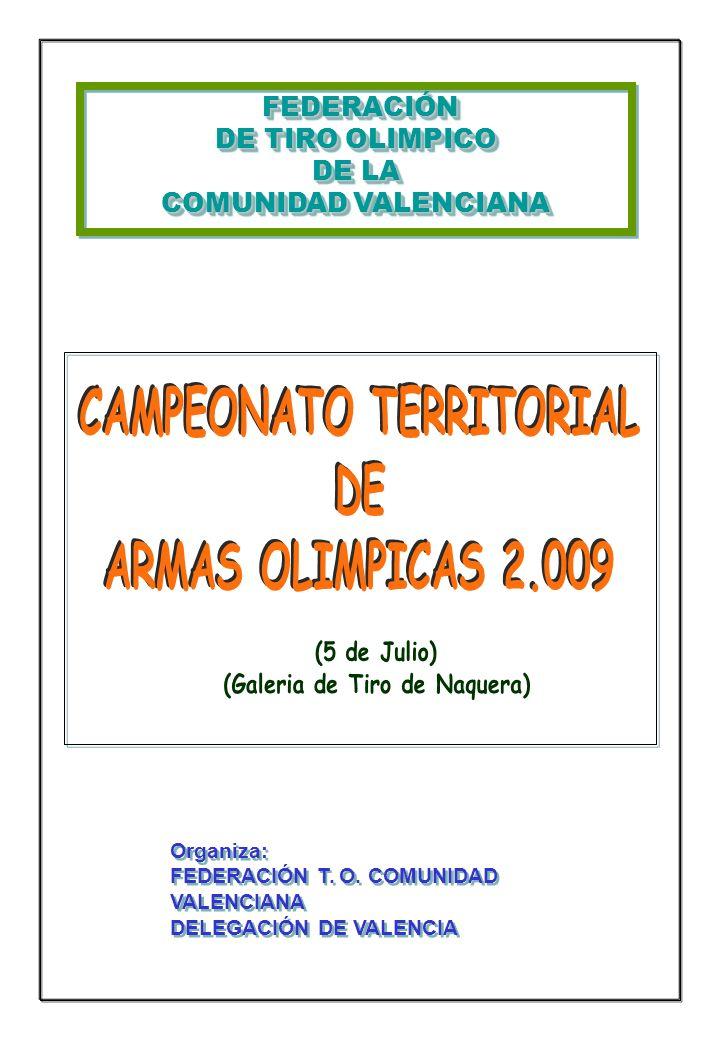 CAMPEONATO TERRITORIAL (Galeria de Tiro de Naquera)