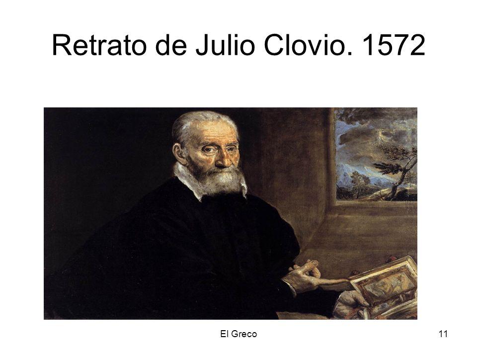 Retrato de Julio Clovio. 1572