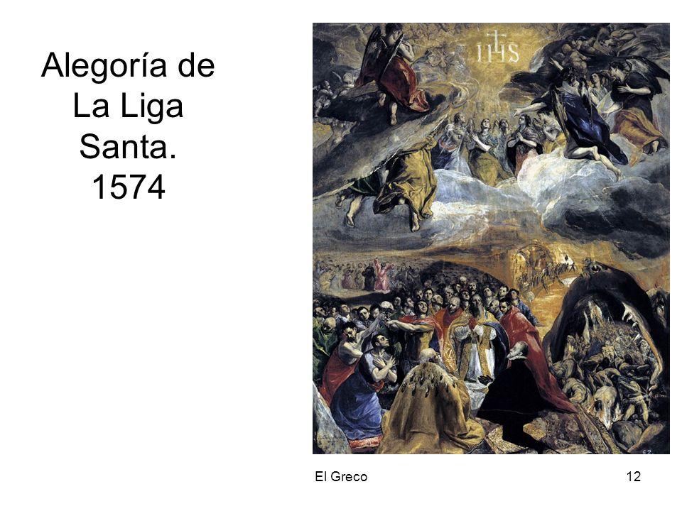 Alegoría de La Liga Santa. 1574