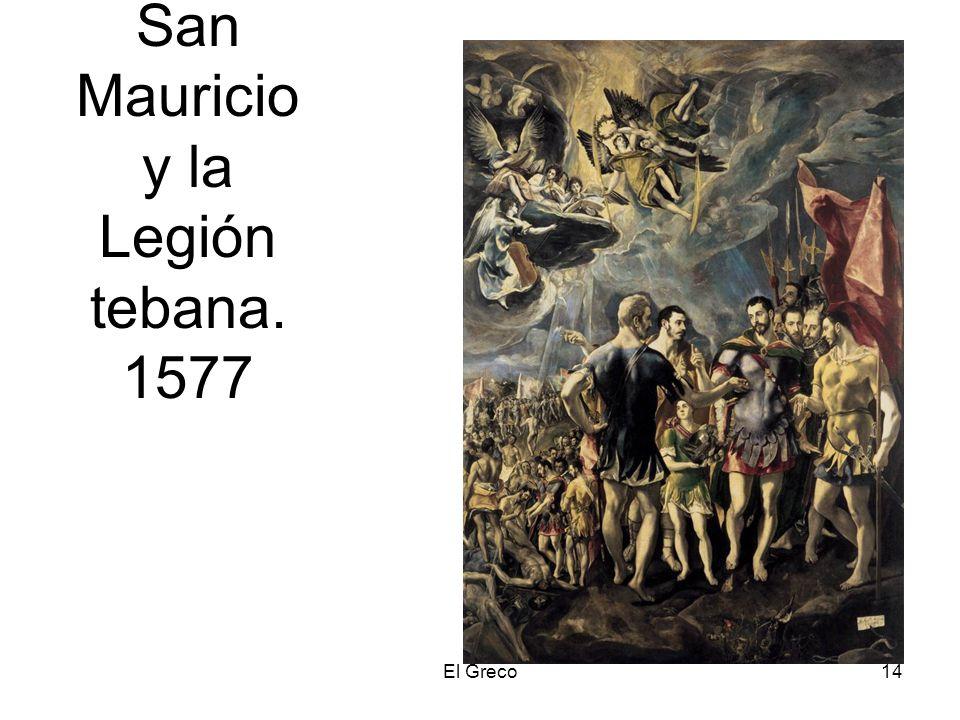 San Mauricio y la Legión tebana. 1577