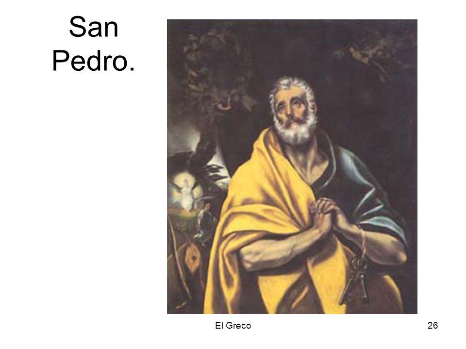 San Pedro. El Greco