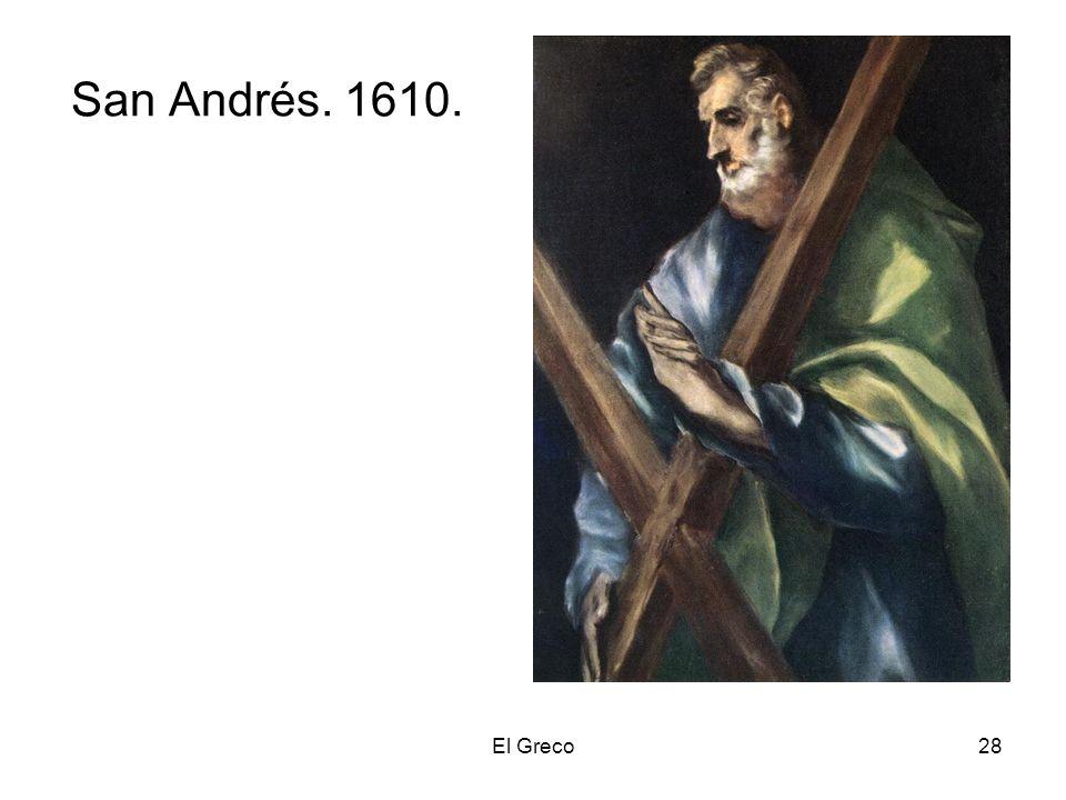 San Andrés. 1610. El Greco