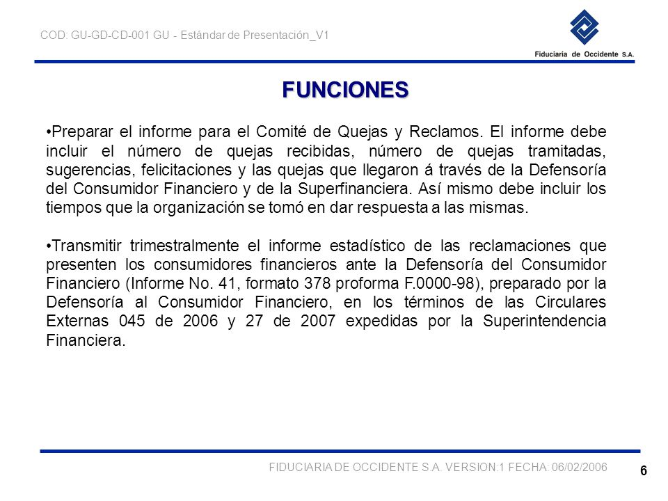 Unidad de atencion al consumidor financiero ppt descargar for Numero atencion al consumidor