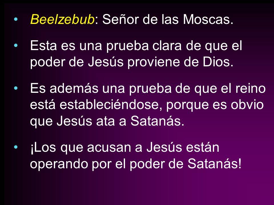 Beelzebub: Señor de las Moscas.
