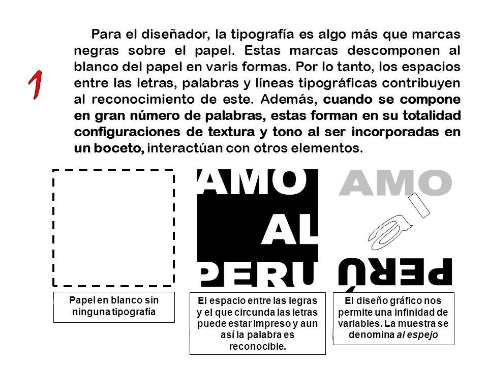Papel en blanco sin ninguna tipografía
