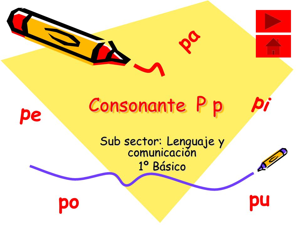 Sub sector: Lenguaje y comunicación 1º Básico