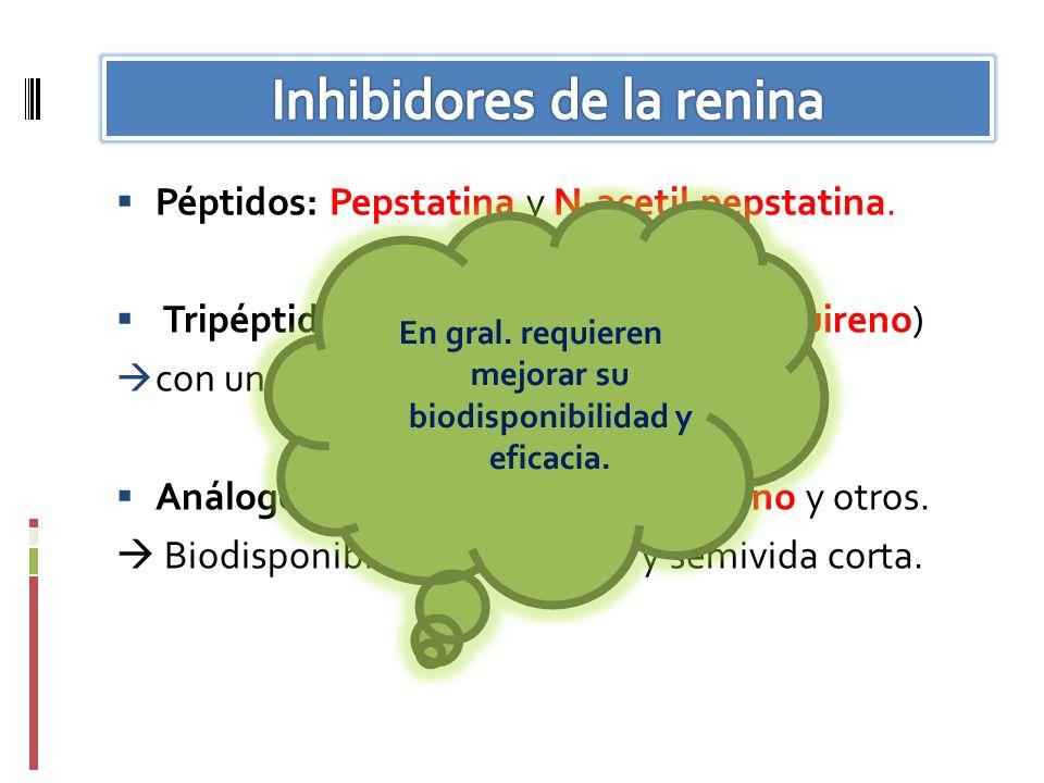 Inhibidores de la renina