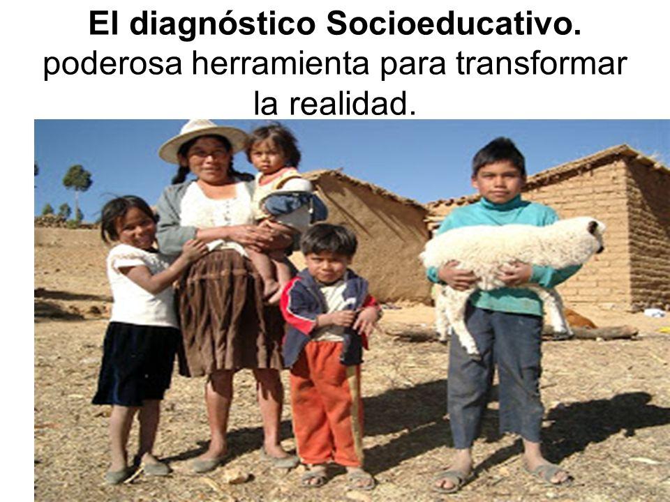 El diagnóstico Socioeducativo
