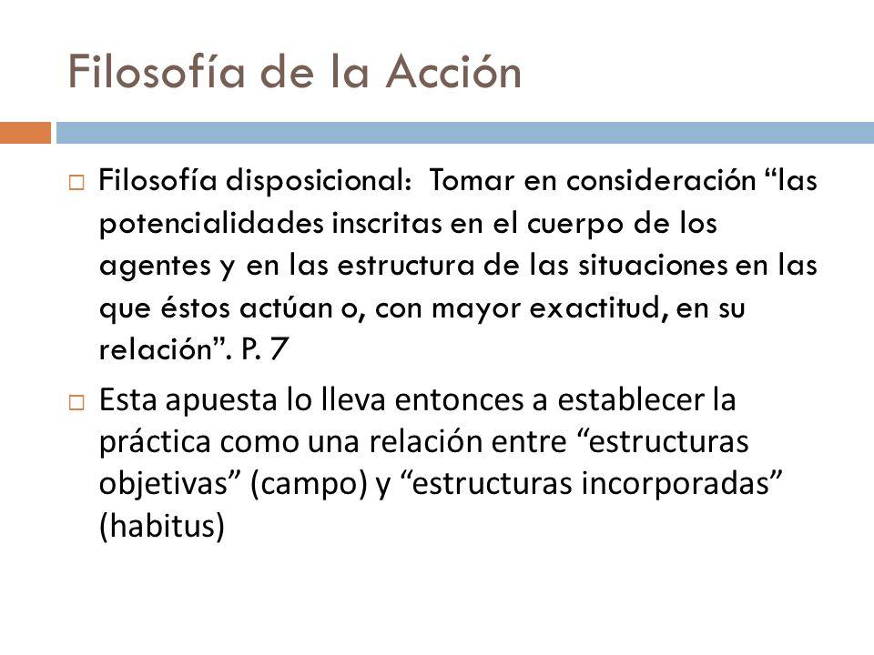 Filosofía de la Acción