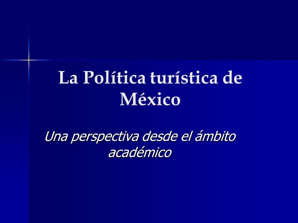 La Política turística de México
