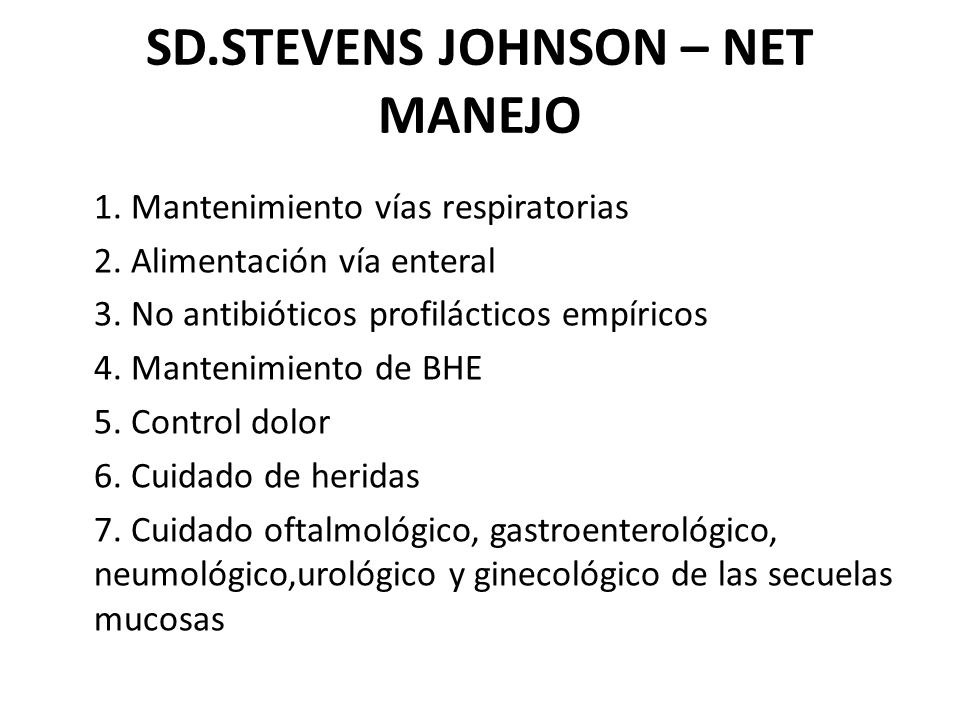 SD.STEVENS JOHNSON – NET MANEJO