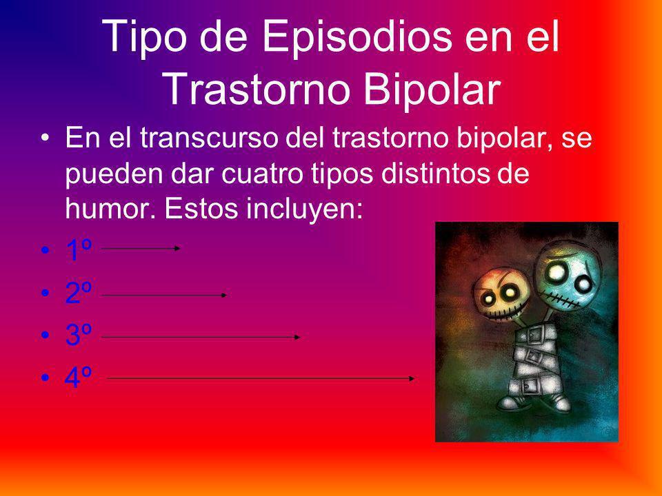 Tipo de Episodios en el Trastorno Bipolar