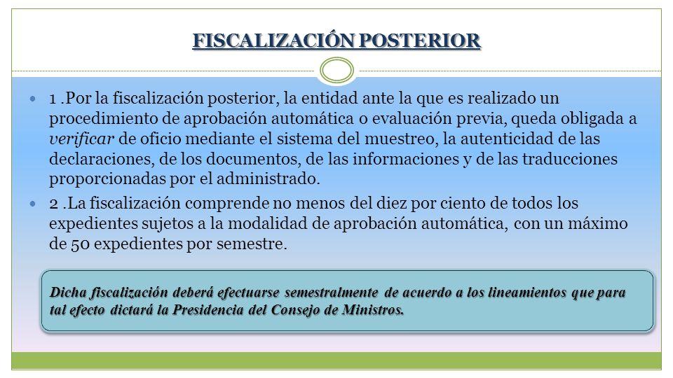 FISCALIZACIÓN POSTERIOR