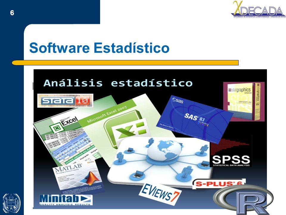 Software Estadístico