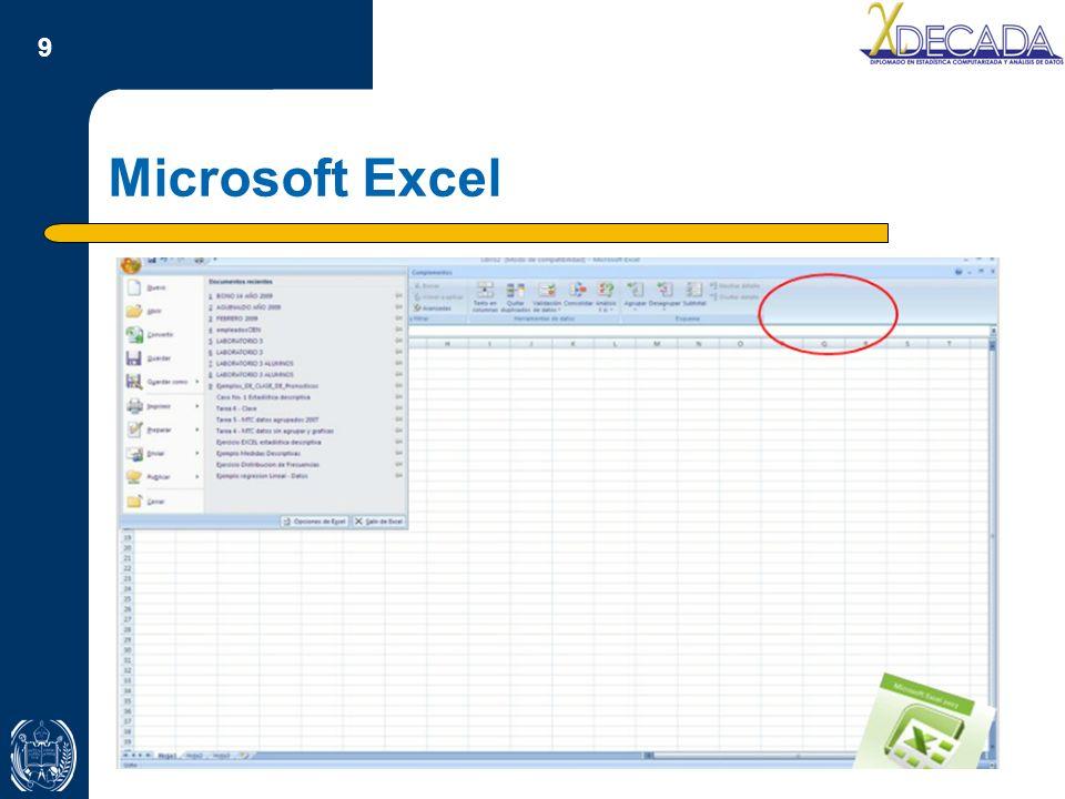 Microsoft Excel Título