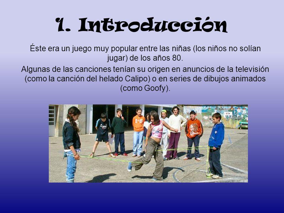 1. Introducción Éste era un juego muy popular entre las niñas (los niños no solían jugar) de los años 80.