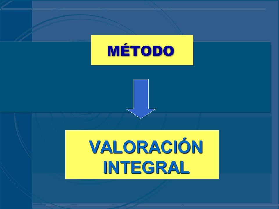 MÉTODO VALORACIÓN INTEGRAL