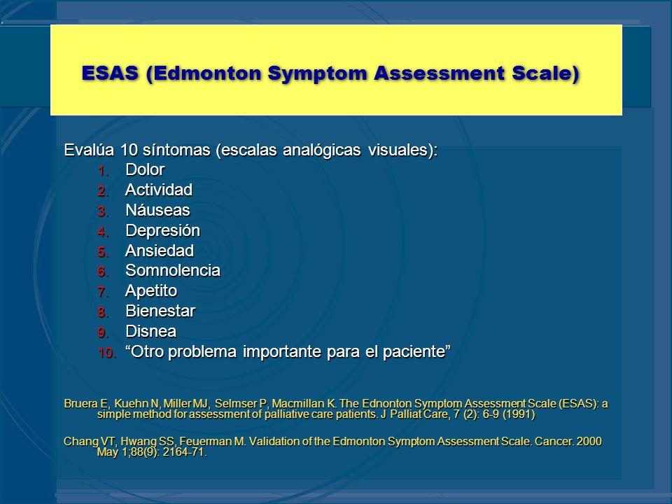 ESAS (Edmonton Symptom Assessment Scale)