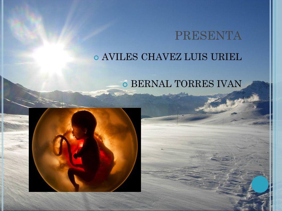 PRESENTA AVILES CHAVEZ LUIS URIEL BERNAL TORRES IVAN