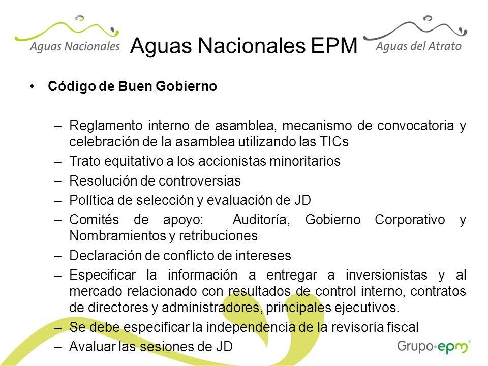 Aguas Nacionales EPM Código de Buen Gobierno