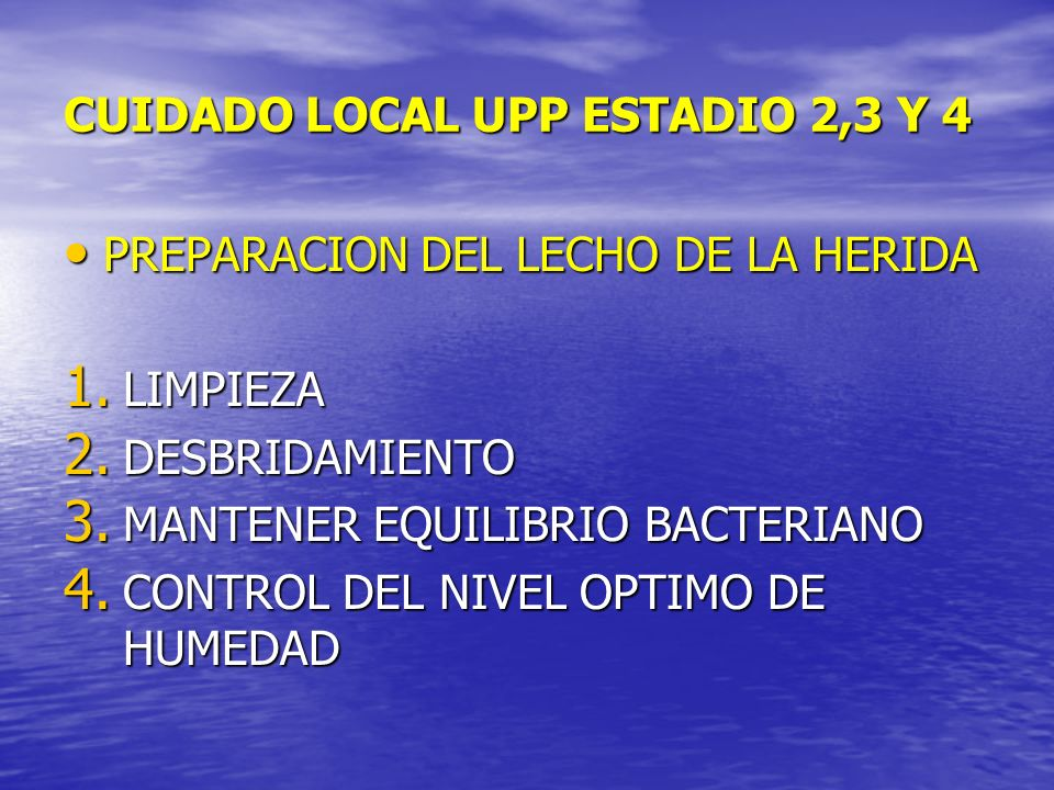CUIDADO LOCAL UPP ESTADIO 2,3 Y 4