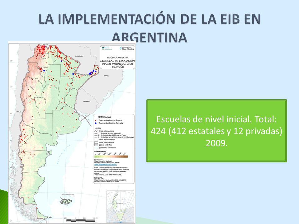 LA IMPLEMENTACIÓN DE LA EIB EN ARGENTINA