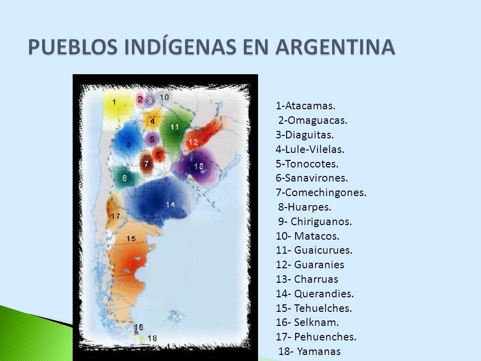 PUEBLOS INDÍGENAS EN ARGENTINA