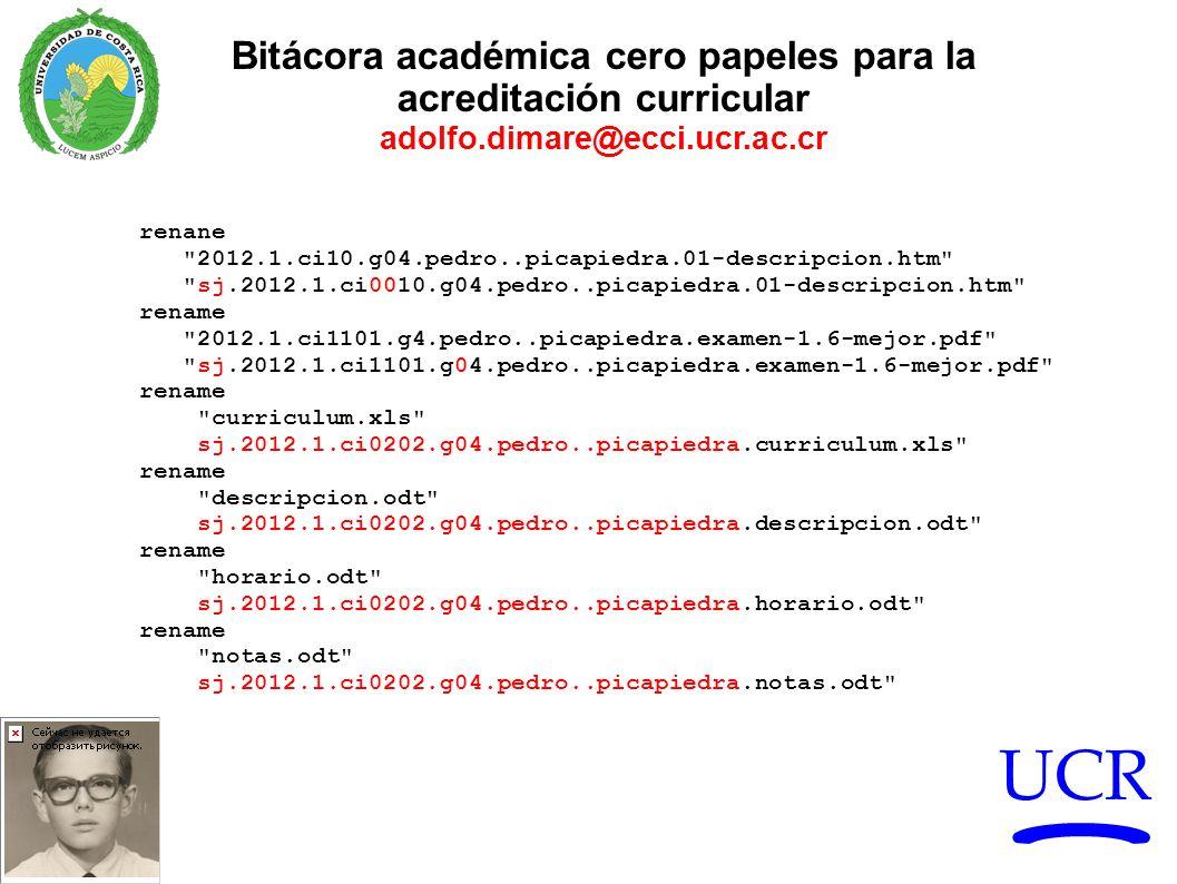 Bitácora académica cero papeles para la acreditación curricular