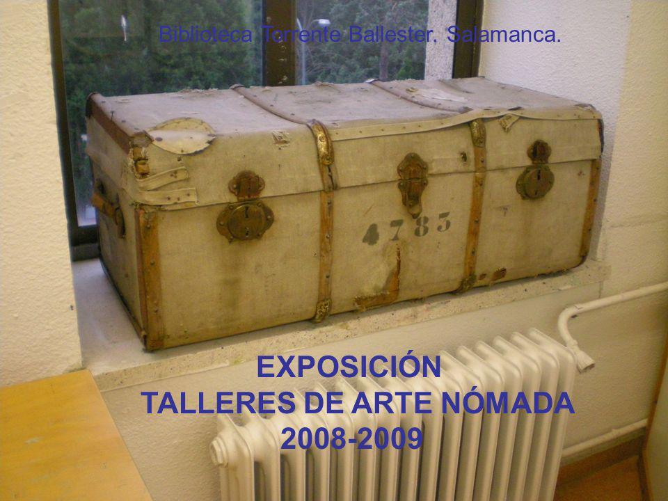 TALLERES DE ARTE NÓMADA 2008-2009