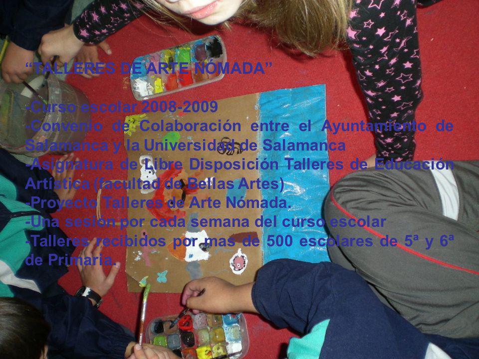 TALLERES DE ARTE NÓMADA