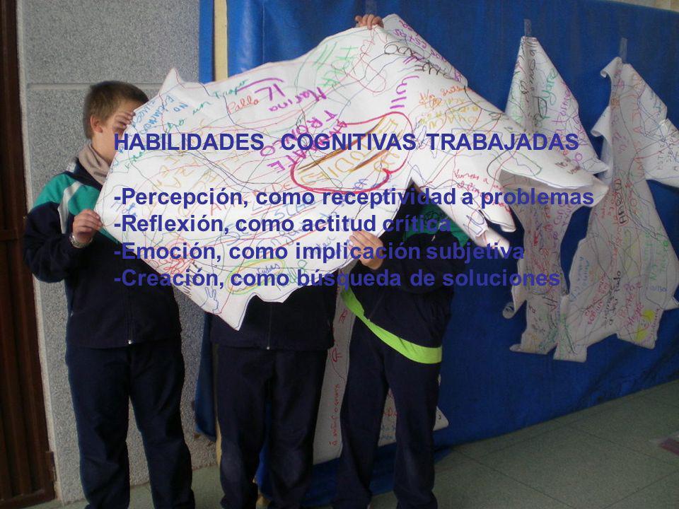 HABILIDADES COGNITIVAS TRABAJADAS